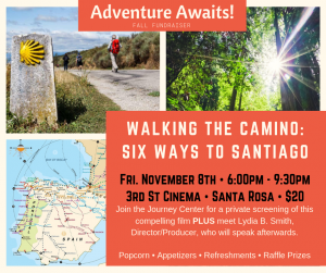 Walking the Camino fundraiser