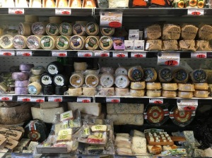 Cheese market in Spain