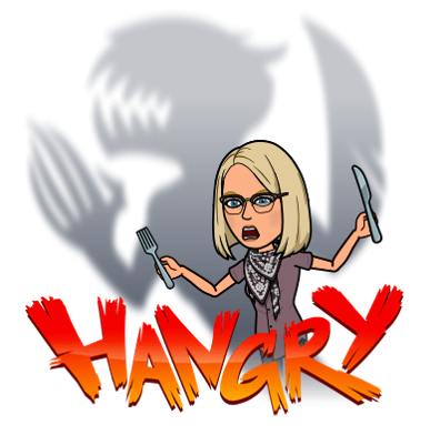 Hangry Girl graphic