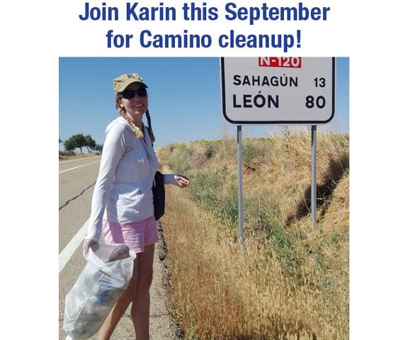 Join Karin this September for Camino Cleanup!