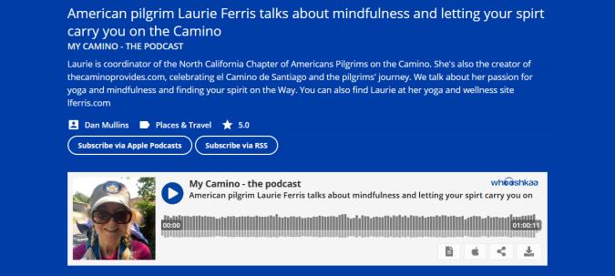 My Camino - the podcast